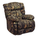 Catnapper Laredo Chaise Rocker Recliner in Mossy Oak Camo 4609-2