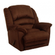 Catnapper Revolver Chaise Rocker Recliner in Chocolate 4718-2
