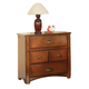 Acme Brandon Nightstand in Antique Oak 11013