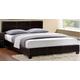 Homelegance Zoey Full Platform Bed in Dark Brown 5790F-1