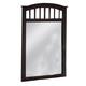Acme San Marino Mirror in Espresso 11175