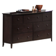 Acme San Marino 7-Drawer Dresser in Espresso 11176