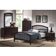 Acme San Marino Queen Slat Bedroom Set in Espresso
