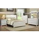 Homelegance Alyssa Panel Bedroom Set in White