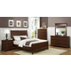 Homelegance Alyssa Panel Bedroom Set in Cherry