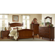 Homelegance Aris Poster Bedroom Set in Warm Brown Cherry