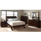 Homelegance Astrid Platform Bedroom Set in Espresso