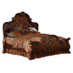 Acme Dresden Eastern King Traditional Arch Bed Cherry Oak 12137EK SPECIAL