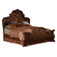Acme Dresden Queen Traditional Arch Bed Cherry Oak 12140Q SPECIAL