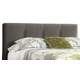 Masterton King/California King Upholstered Headboard Only in Espresso