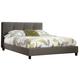 Masterton Queen Upholstered Bed in Espresso