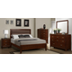 Homelegance Bleeker Panel Bedroom Set in Brown Cherry