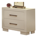 Coaster Jessica Nightstand in White 202992 CLEARANCE