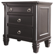Greensburg Nightstand in Black