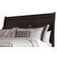 Greensburg Queen Sleigh Headboard Only in Black