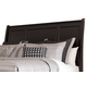 Greensburg King/Cal King Sleigh Headboard Only in Black