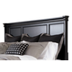 Greensburg King/Cal King Panel Headboard Only in Black