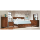 Homelegance Campton Platform Bedroom Set in Cherry