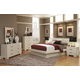 Coaster Jessica Platform Bedroom Set in White