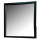 Acme Manhattan Mirror in Black 14116