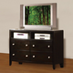 Acme Oxford TV Console in Espresso 14307