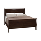 Coaster Louis Philippe Queen Sleigh Bed in Cappuccino 202411Q