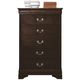 Coaster Louis Philippe Chest in Cappuccino 202415