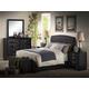 Acme Ireland Kids Platform Bedroom Set in Black