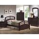 Acme San Marino Arched Bedroom Set in Dark Walnut