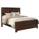 Coaster Nortin Queen Panel Wood Bed in Dark Cherry 202191Q