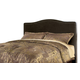 Kasidon King/California King Upholstered Headboard Bed in Brown