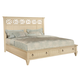 Wynwood Garden Walk Queen Storage Panel Bed in Latte CLEARANCE