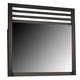 Coaster Richmond Mirror in Black 202724