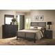 Coaster Richmond Slat Bed Bedroom Set in Black