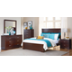 Homelegance Hendrick Panel Bedroom Set in Cherry
