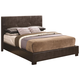 Coaster Andreas King Casual Bed with Vinyl Padded Headboard 202470KE