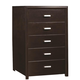 Coaster Andreas Chest in Cappuccino Brown 202475