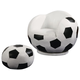 Coaster Small Kids Soccer Ball Chair and Ottoman 460178
