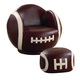 Coaster Small Kids Football Chair and Ottoman 460179