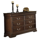 Acme Hennessy 8-Drawer Dresser in Brown Cherry 19455