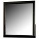 Acme Louis Phillipe III Mirror in Black 19504