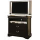 Acme Louis Phillipe III 2-Drawer TV Console in Black 19507