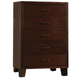 Acme Tyler 5-Drawer Chest in Espresso 19546