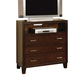 Acme Tyler 3-Drawer TV Console in Espresso 19547