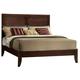 Acme Madison Eastern King Panel Bed in Espresso 19567EK