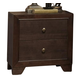 Acme Madison 2-Drawer Nightstand in Espresso 19573