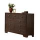 Acme Madison 9-Drawer Dresser in Espresso 19575