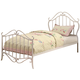 Coaster Bella Twin Metal Youth Bed in White 400521T