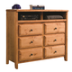 Coaster Wrangle Hill Media Dresser 460143
