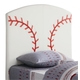 Coaster Youth Twin Sports Headboard Only in Baseball Design 460167